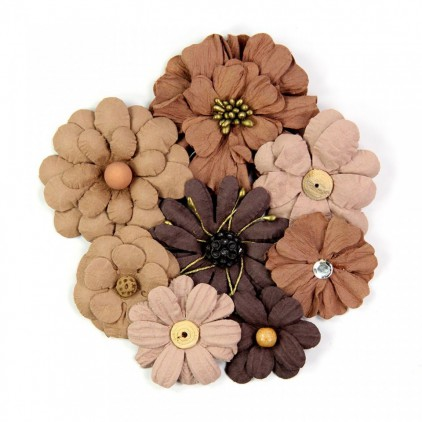Paper flower set - Little Birdie - Symphony Flowers Cafelate
