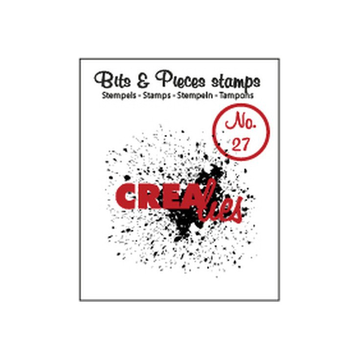 Clear stamp - Crealies - Bits & Pieces no. 27