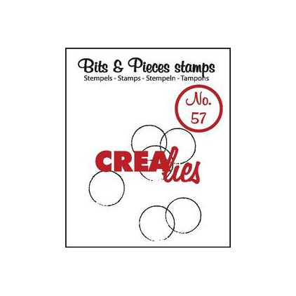 Clear stamp - Crealies - Bits & Pieces no. 57
