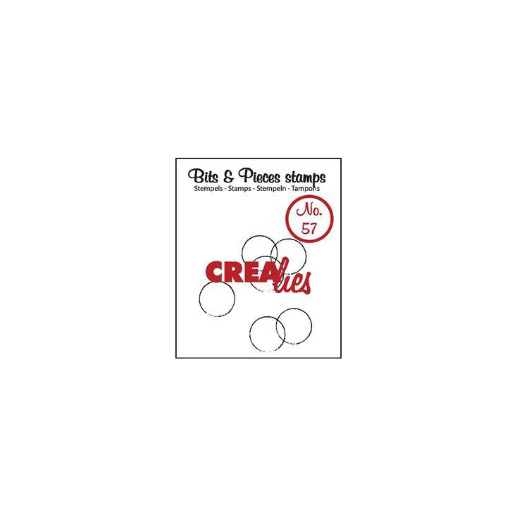 Stempel silikonowy - Crealies - Bits & Pieces no. 57