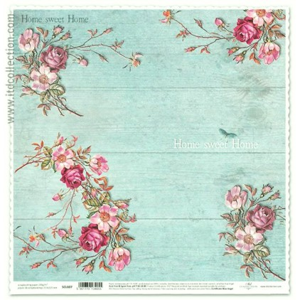 ITD Collection - Scrapbooking paper - SCL607