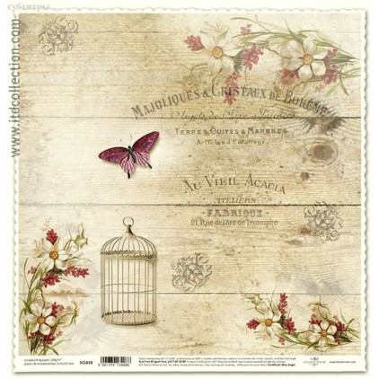ITD Collection - Scrapbooking paper - SCL610