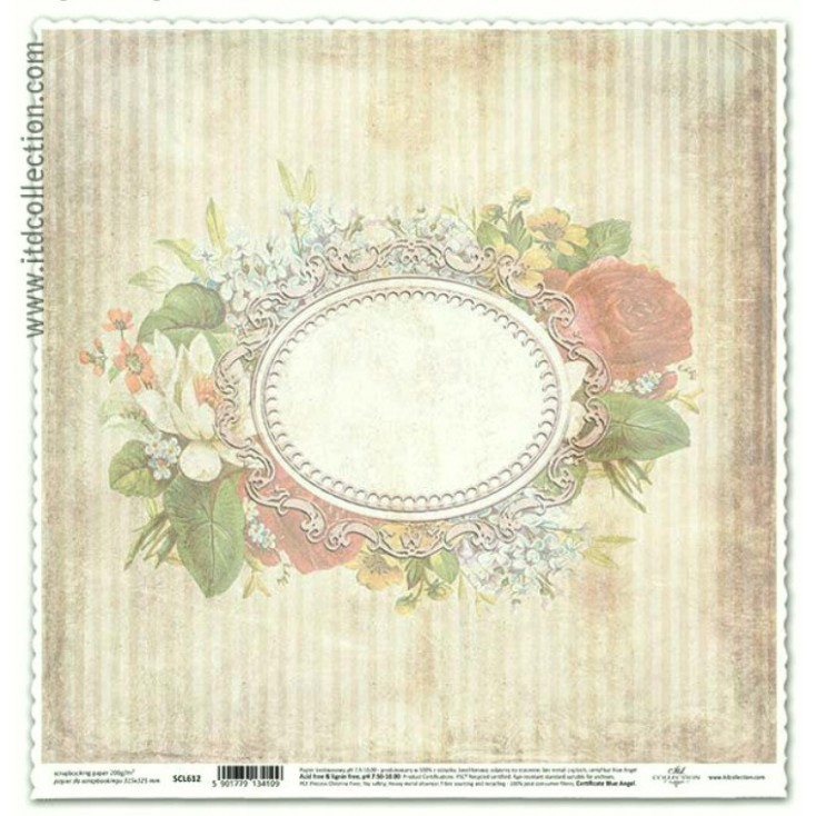 ITD Collection - Scrapbooking paper - SCL612