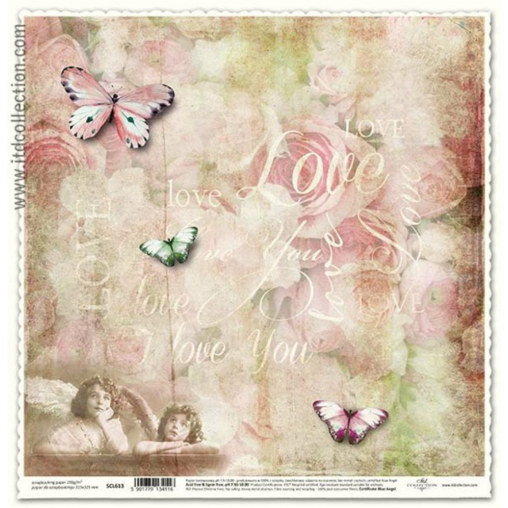 ITD Collection - Scrapbooking paper - SCL613