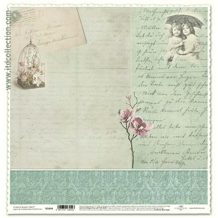 ITD Collection - Papier do scrapbookingu - SCL614