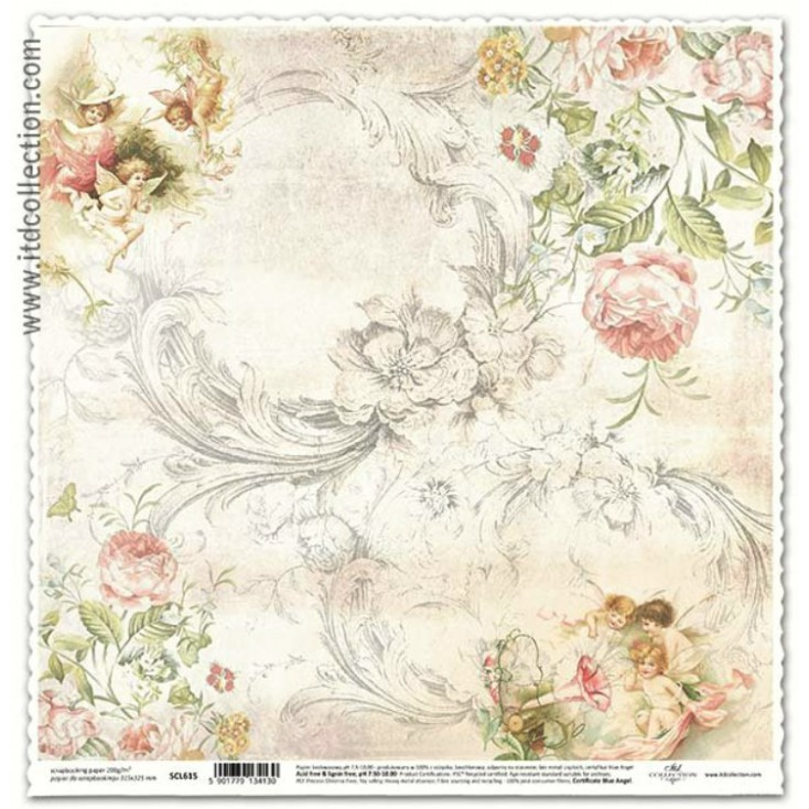 ITD Collection - Scrapbooking paper - SCL615