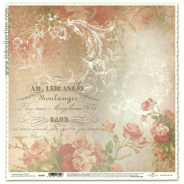 ITD Collection - Scrapbooking paper - SCL616