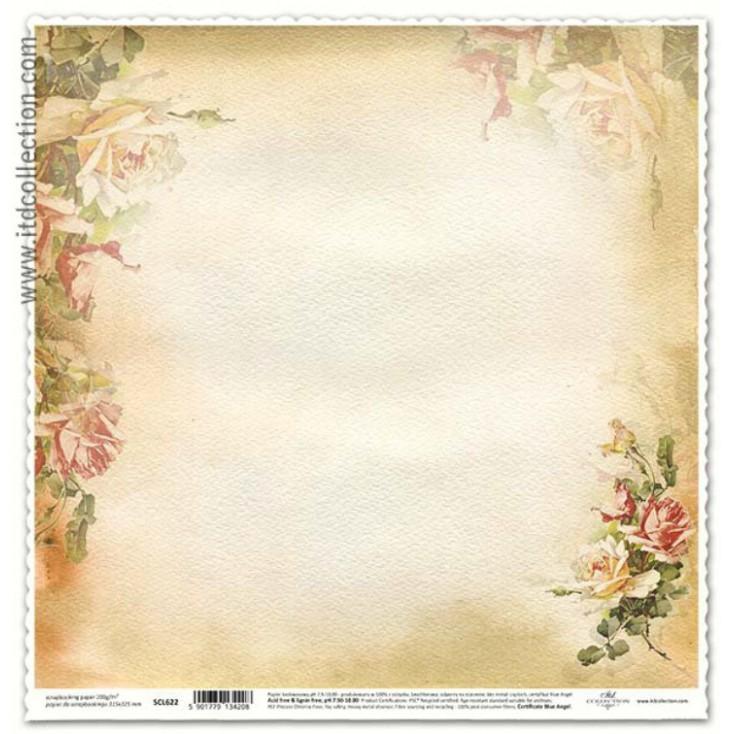 ITD Collection - Papier do scrapbookingu - SCL622