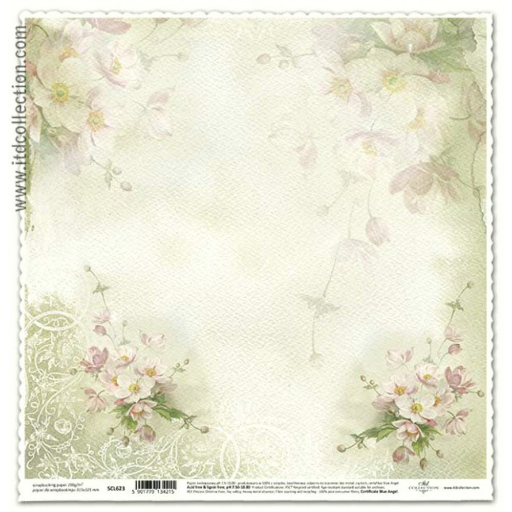 ITD Collection - Scrapbooking paper - SCL623