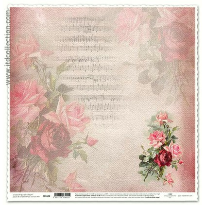 ITD Collection - Scrapbooking paper - SCL624