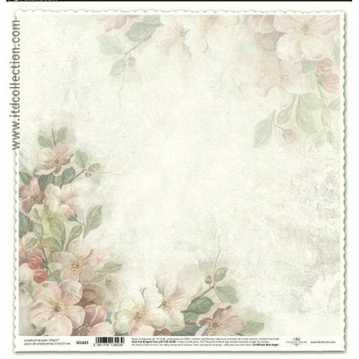 ITD Collection - Scrapbooking paper - SCL625