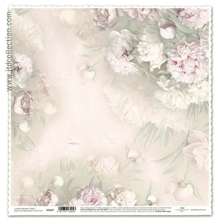 ITD Collection - Scrapbooking paper - SCL627