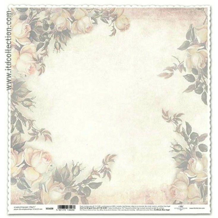 ITD Collection - Papier do scrapbookingu - SCL628