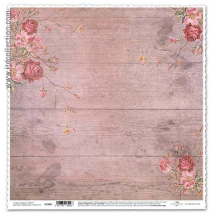 ITD Collection - Scrapbooking paper -  SCL606