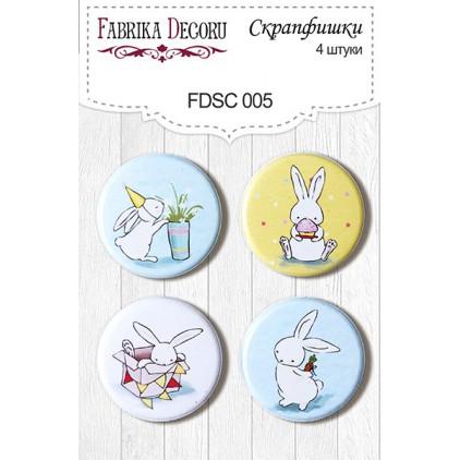 Selfadhesive buttons/badge - Fabrika Decoru - Birthday Party 005