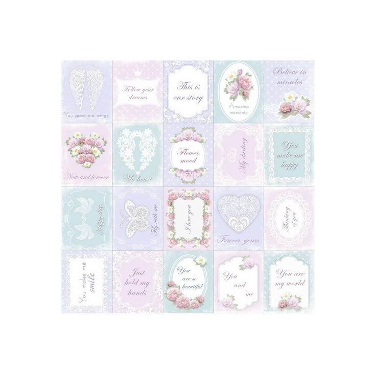Scrapbooking paper - Fabrika Decoru - Shabby dreams 02 - Pictures for cutting