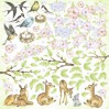 Scrapbooking paper- Fabrika Decoru - Smile of Spring - Pictures for cutting