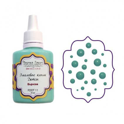 Enamel dots - Fabrika Decoru - Powder mint
