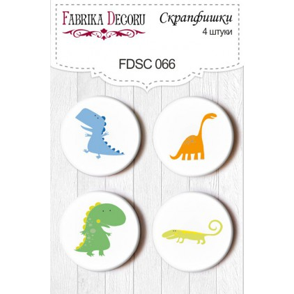 Selfadhesive buttons/badge - Fabrika Decoru 066