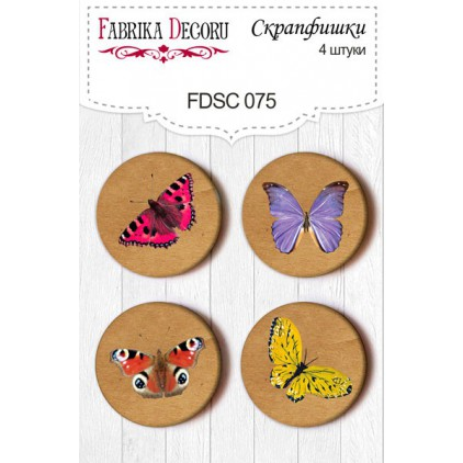 Selfadhesive buttons/badge - Fabrika Decoru -075