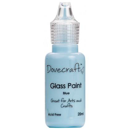 Farbka do malowania na szkle - Dovecraft - niebieska