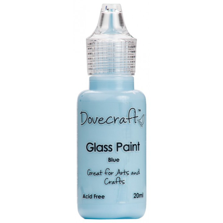 Glass paint Dovecraft - blue