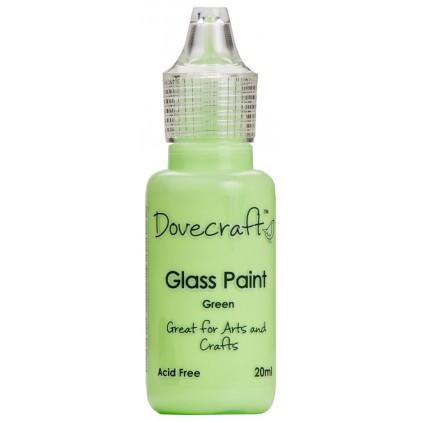 Farbka do malowania na szkle - Dovecraft - zielona