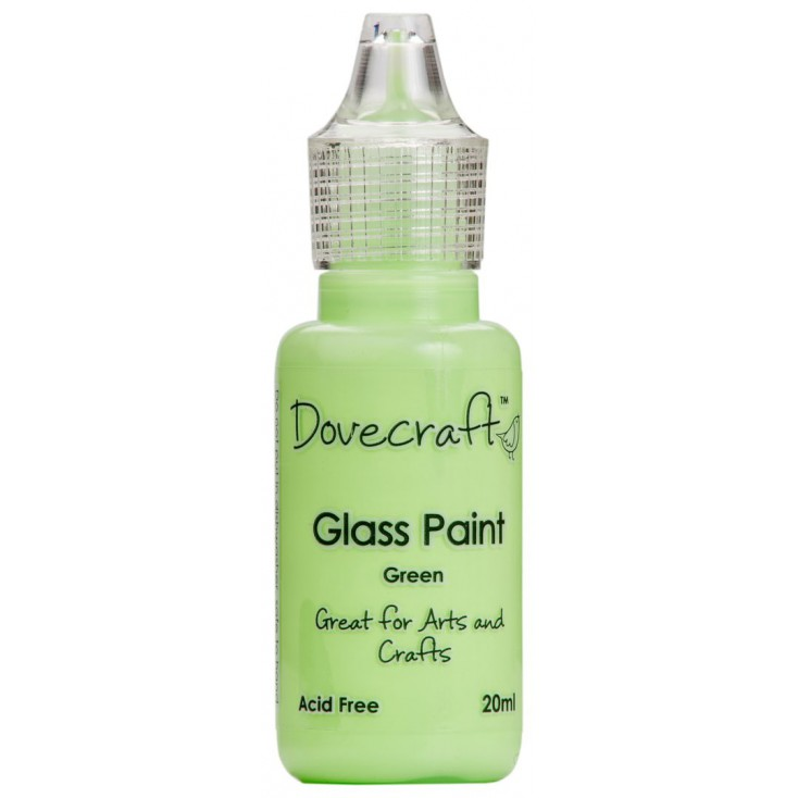 Glass paint Dovecraft - green