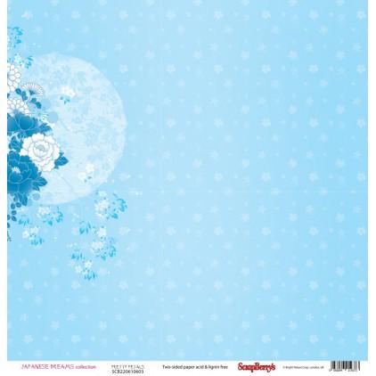 Scrapbooking paper - Scrapberry's - Japanese Dreams -Pretty petals