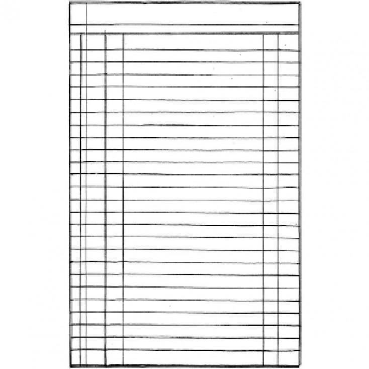 Stempel / pieczątka - Stamperia - kartka z notatnika