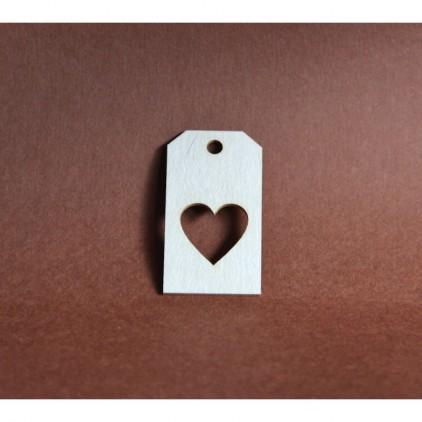 Filigranki - Cardboard element - Tags 2