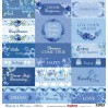 Papier do scrapbookingu – Scrapberry's -Rhapsody in Blue - cards 1