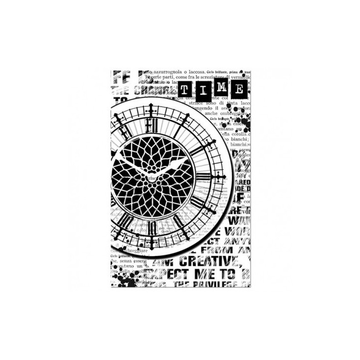 Stempel / pieczątka - Stamperia - Czas