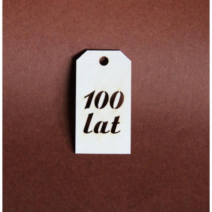 Filigranki - Cardboard element - Tag 100 lat