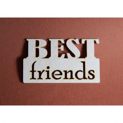 Filigranki - Cardboard element -Best friends
