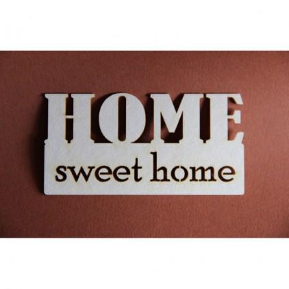 Filigranki - Cardboard element - Home sweet home
