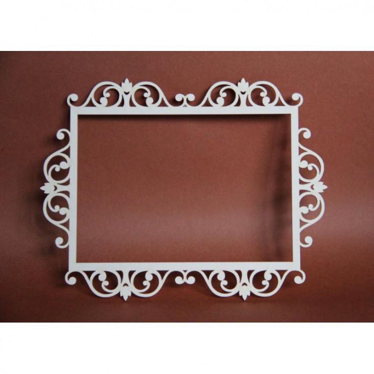 Filigranki - Cardboard element - Big frame for photo