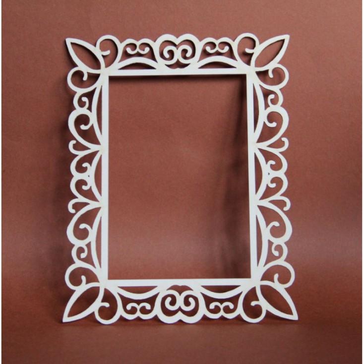Filigranki - Cardboard element - Big frame for photo 02