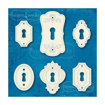 Latarnia Morska - Cardboard element - door lock