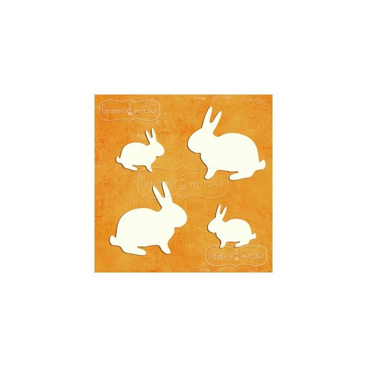 Latarnia Morska - Cardboard element -easter bunnies