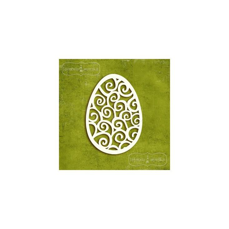 Latarnia Morska - Tekturka - Jajka wielkanocne ażurowe