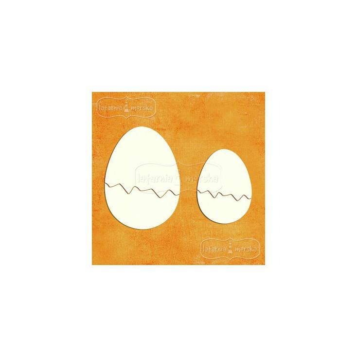 Latarnia Morska - Cardboard element -easter eggs shells