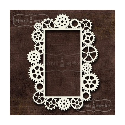 Latarnia Morska - Cardboard element - frame Steampunk Stories II