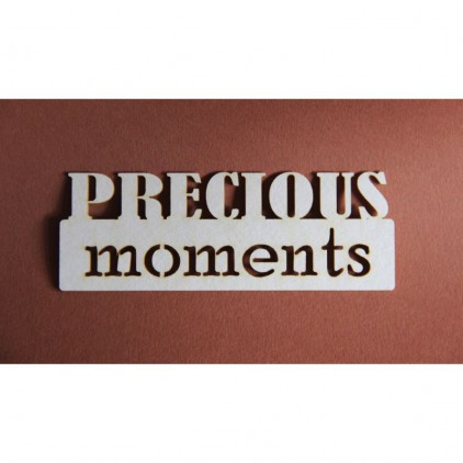 Filigranki - Cardboard element - Precious moments