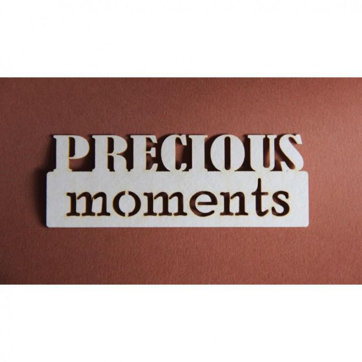 Filigranki - Cardboard element - Precious moments