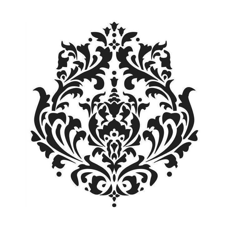Warstwy i struktóry możesz zrobić sama - Crafter's Workshop - Maska, szablon 15x15cm - Mini Brokade