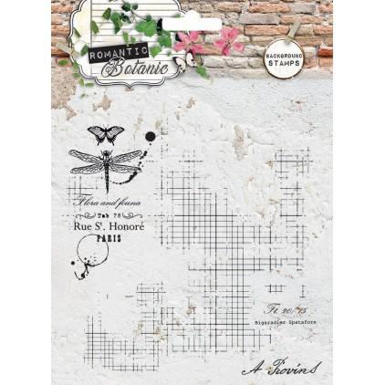 Własnoręcznie stworzysz kolaż - Stempel / pieczątka - Stucio Light - Romantic Botanic 01