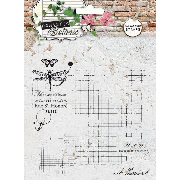 Clear stamp - Stucio Light - Romantic Botanic 01