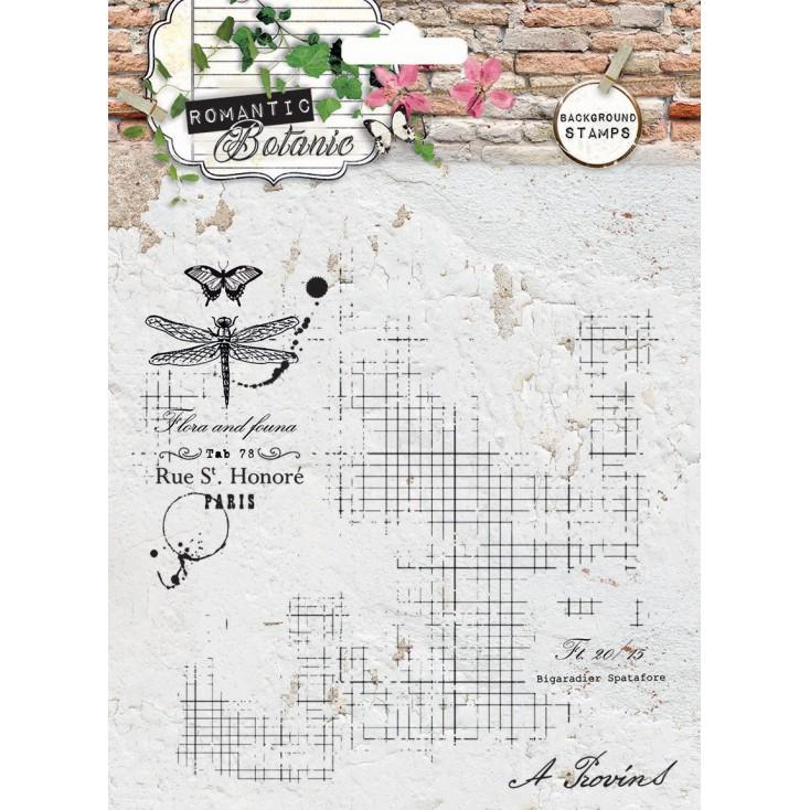 Własnoręznie stworzysz kolaż - Stempel / pieczątka - Stucio Light - Romantic Botanic 01