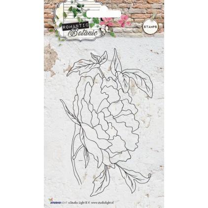 Własnoręcznie stworzysz piękne tło w swoim albumie - Stempel / pieczątka - Stucio Light - Romantic Botanic 05